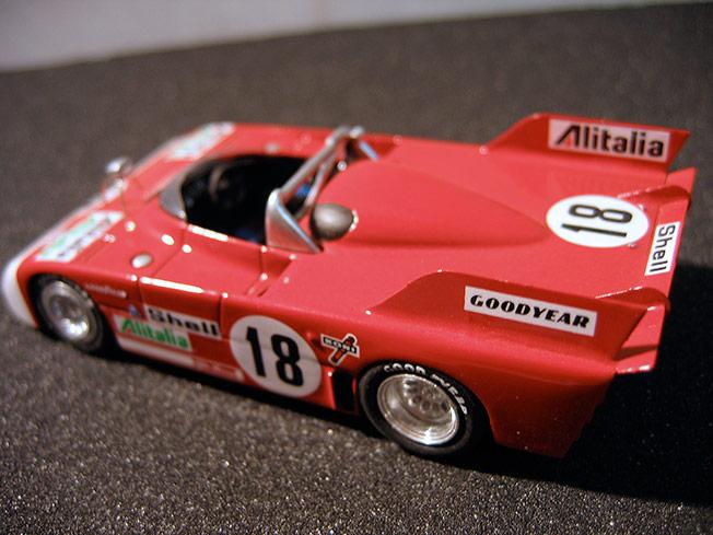 Mod le r duit sport proto gt le mans alfa romeo 33 tt3 for Alfa romeo salon de provence