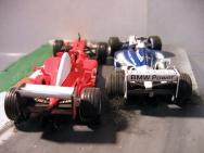 Schumacher / Montoya - Duel